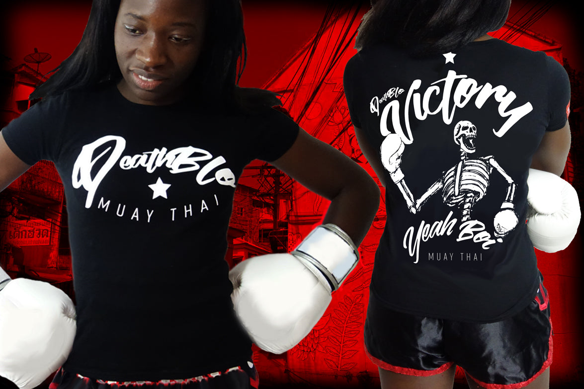 Muay Thai t shirts by Deathblo | Ladies Victory