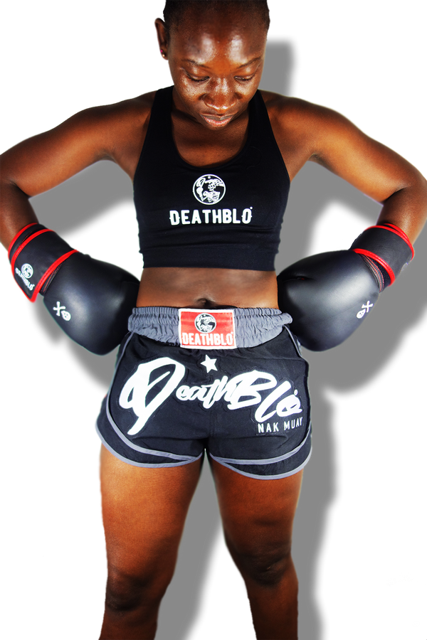 Hybrid sports/muay thai fighter shorts/unisex/DeathBlo