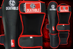 Black Death Shin Guards