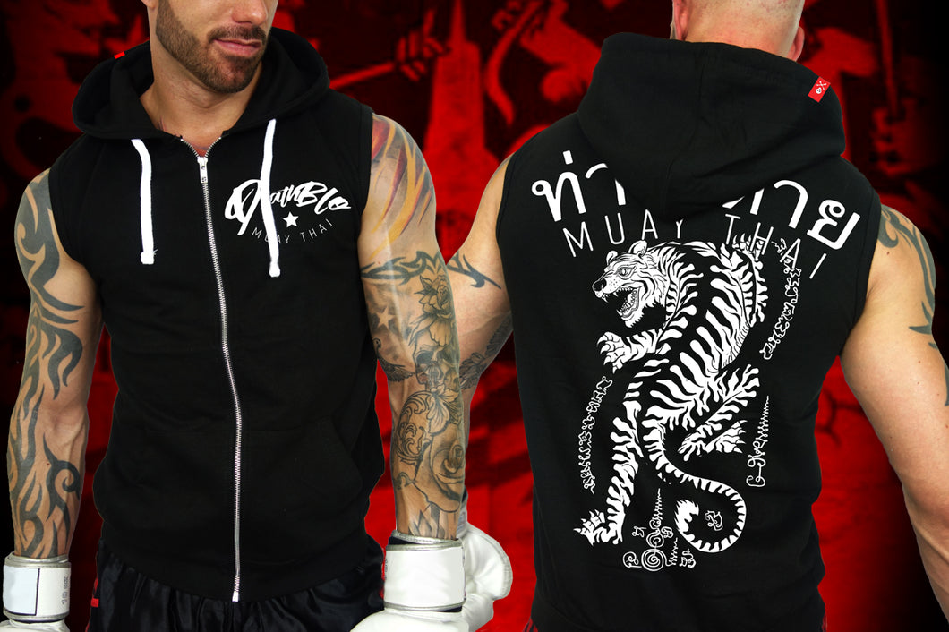 Muay Thai t hoody by Deathblo | Fighting Tiger