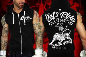 Muay Thai t hoody by Deathblo | Let's ride