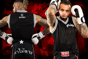 Unisex Muay Thai ULTRA AIR COOLED combat tank | DeathBlo