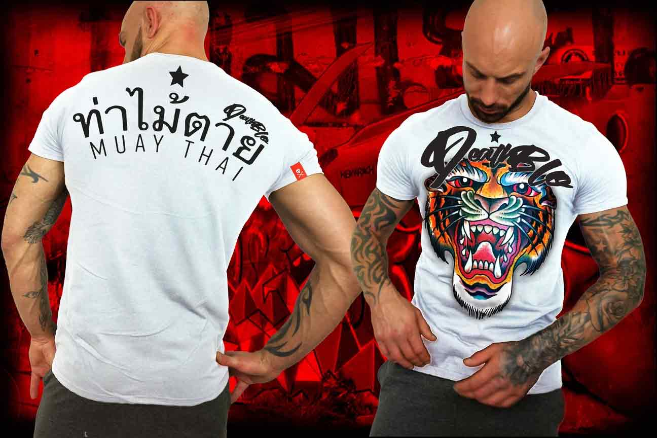 Muay Thai t shirt by DeathBlo