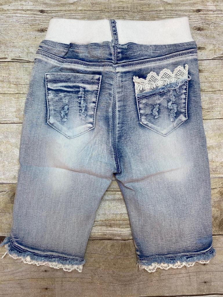 Bermuda Denim Acid Wash