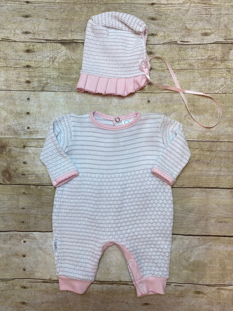 Jumper Key Hole Stripe