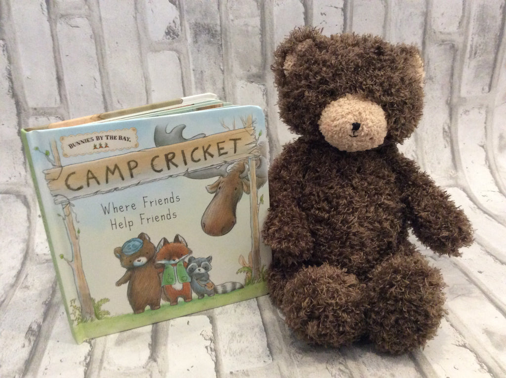 Cubby the Bear- Camp Cricket