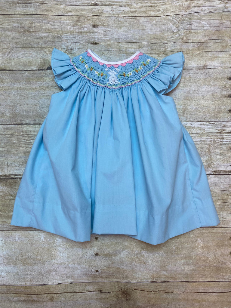 Dress, Bunny Smocked