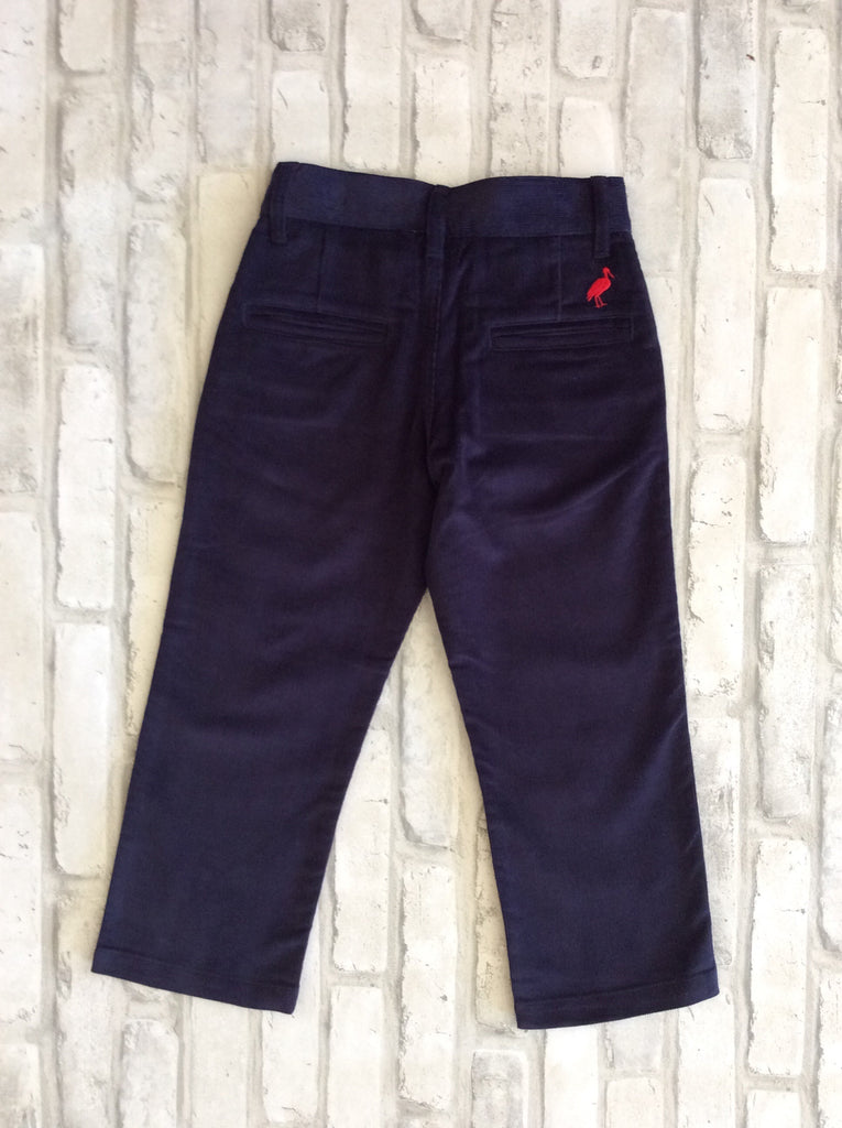 Navy Corduroy Pants