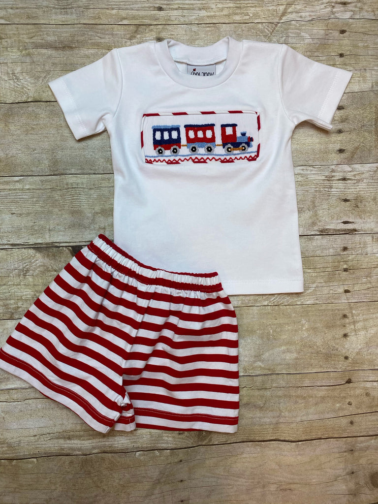 Train 2pc Shorts Set