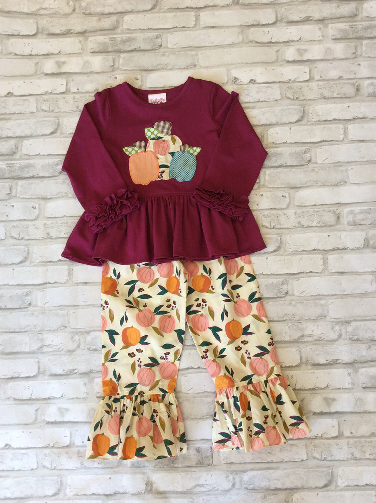 Pumpkin 2 Piece Set