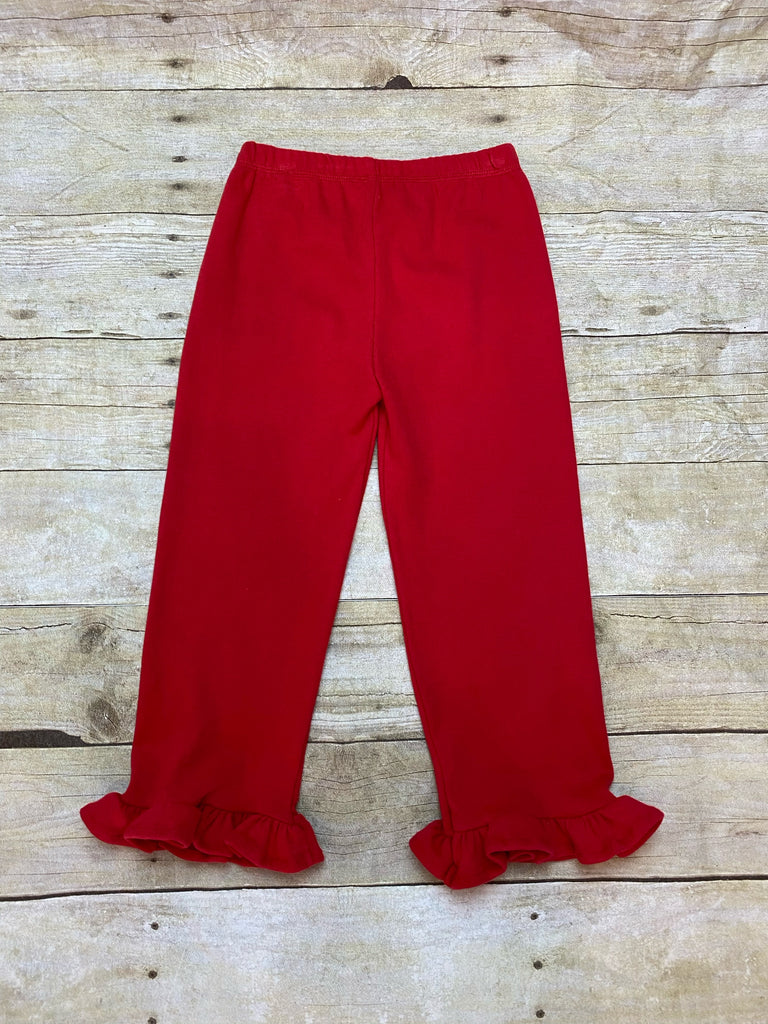 Ruby Ruffle Pants