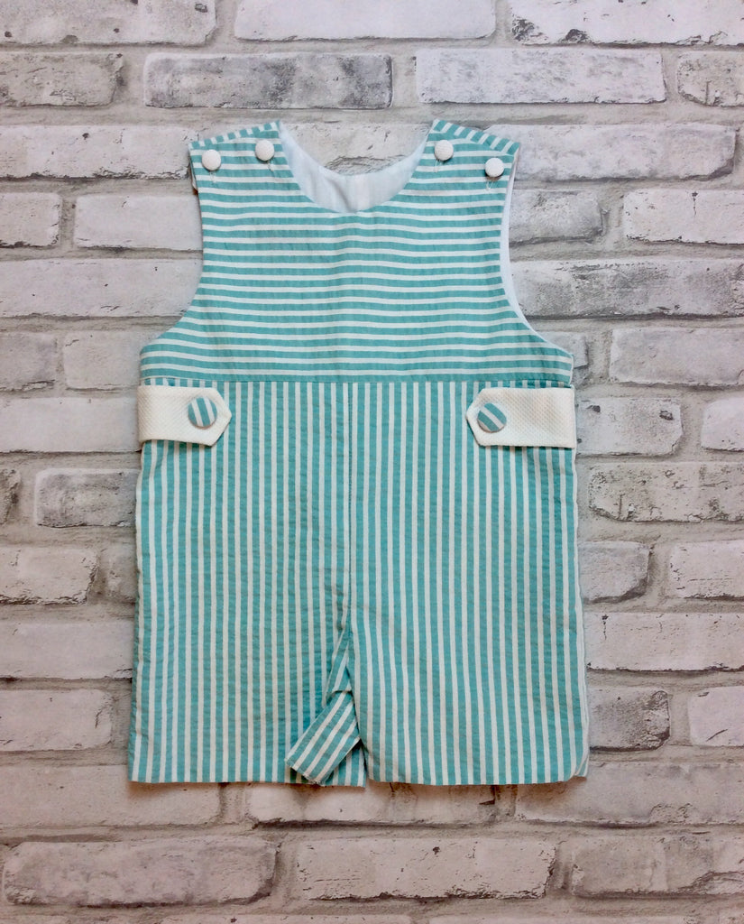 Marco & Lizzy Connor Striped Overall