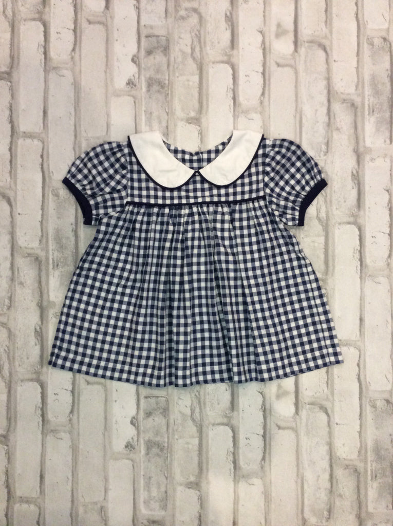 Navy Checked 2-Piece Set