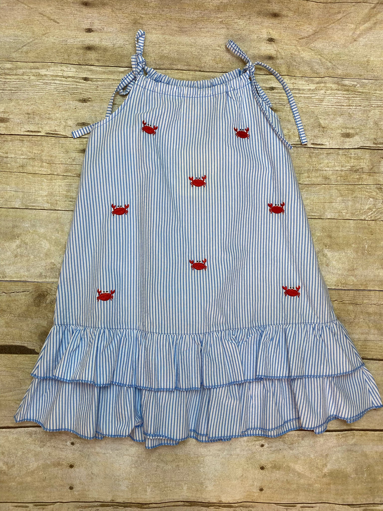 Crab Tie Shoulder Dress