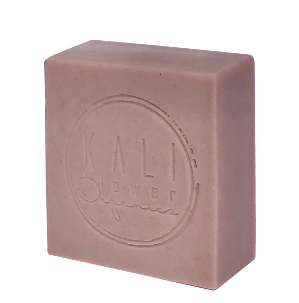 Purple Clay Soap with Frankincense