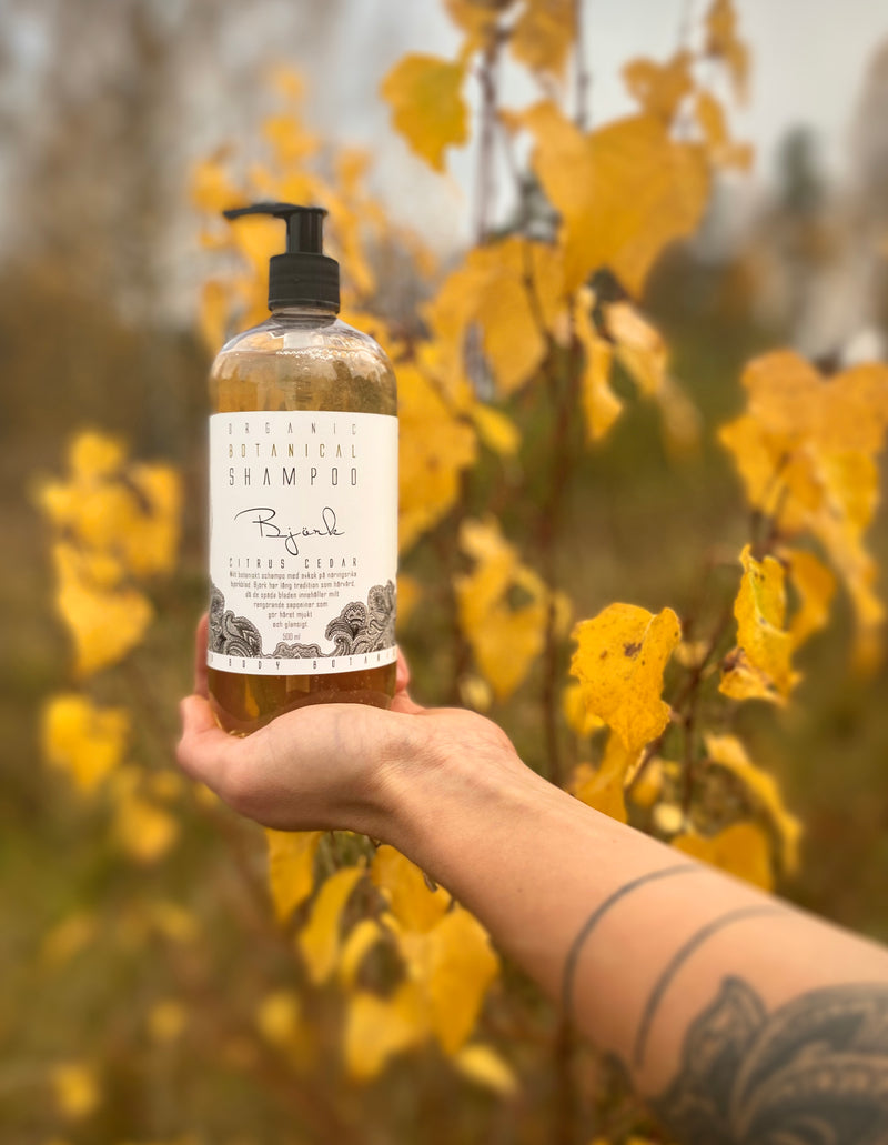 Organic Birch leaf Botanical Shampoo - Citrus and Cedar