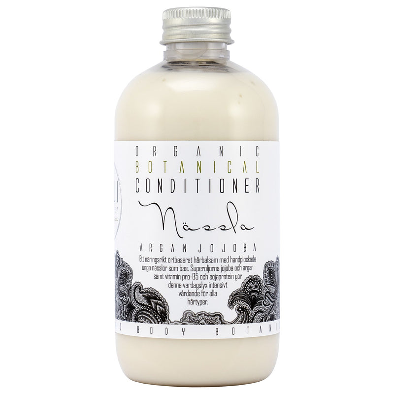 Organic Nettle Botanical Hair Conditioner with Argan- and Jojoba oil