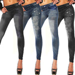 Women High waist stretch Denim Skinny Ripped Pants - Endless curve
