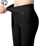High quality Plus Size Stretched comfortable Leggings - Endless curve