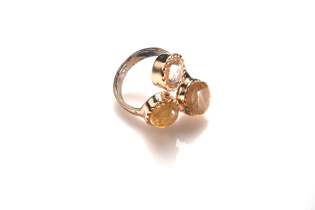 SMALL DAZZLE RING - Ava Cadiz