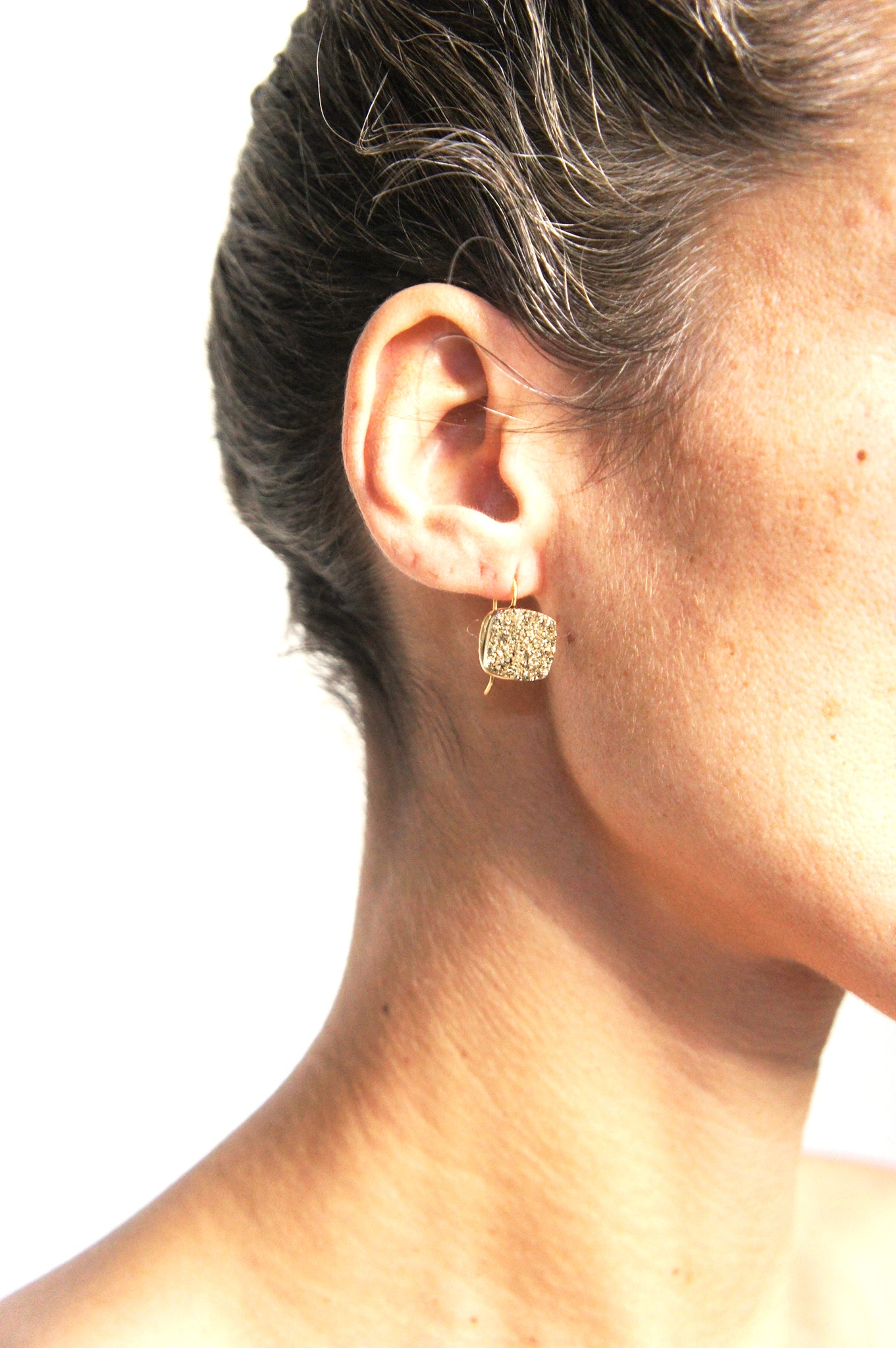 DRUZY EARRINGS SHELI - Ava Cadiz