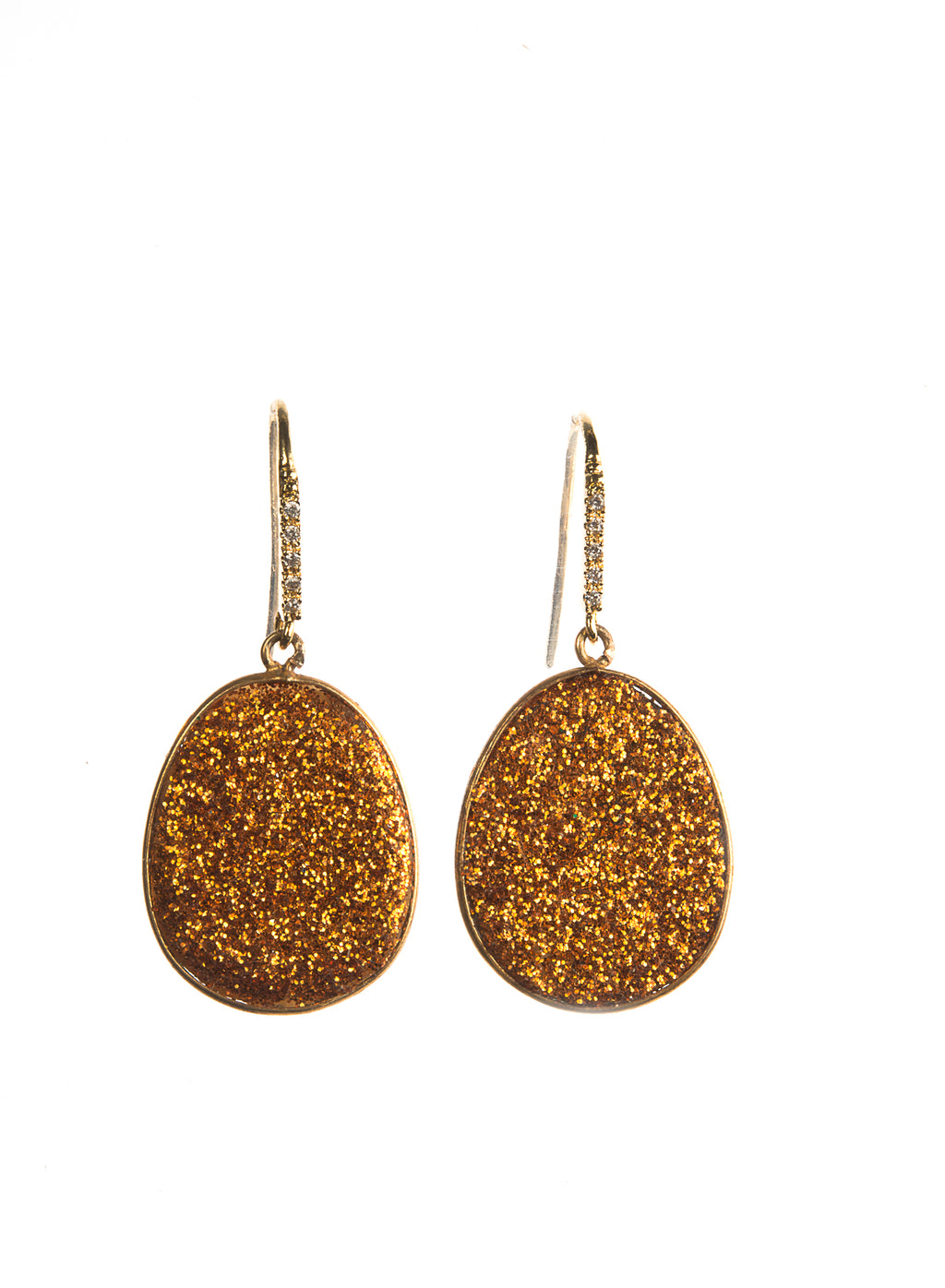 DRUZY EARRINGS STEFFY - Ava Cadiz