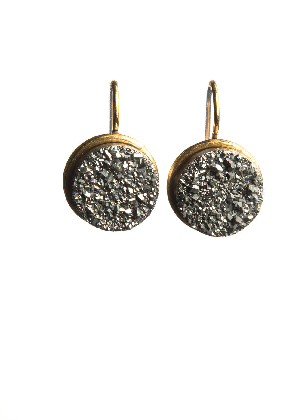 DRUZY EARRINGS THE AVA - Ava Cadiz