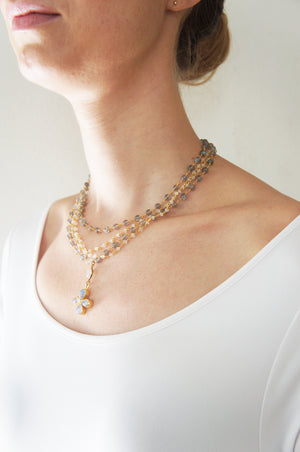 FINE NECKLACE ABBY - Ava Cadiz