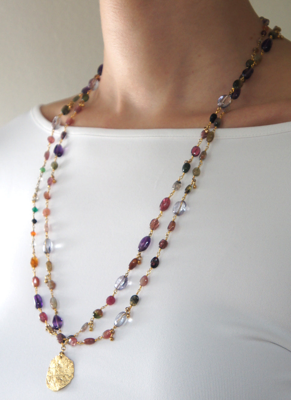 FINE NECKLACE VARDIT - Ava Cadiz