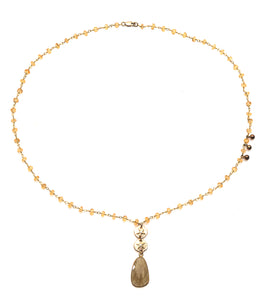 FINE NECKLACE YVA - Ava Cadiz