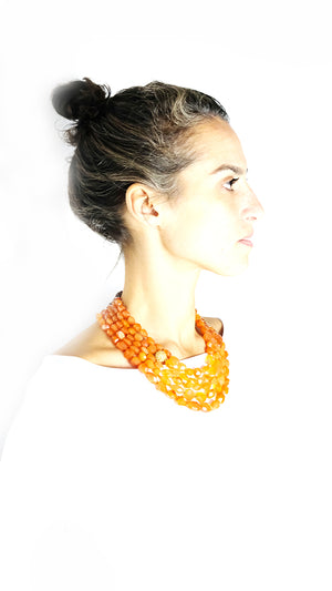 MULTIPLE ROW COLLIER NELLIE - Ava Cadiz