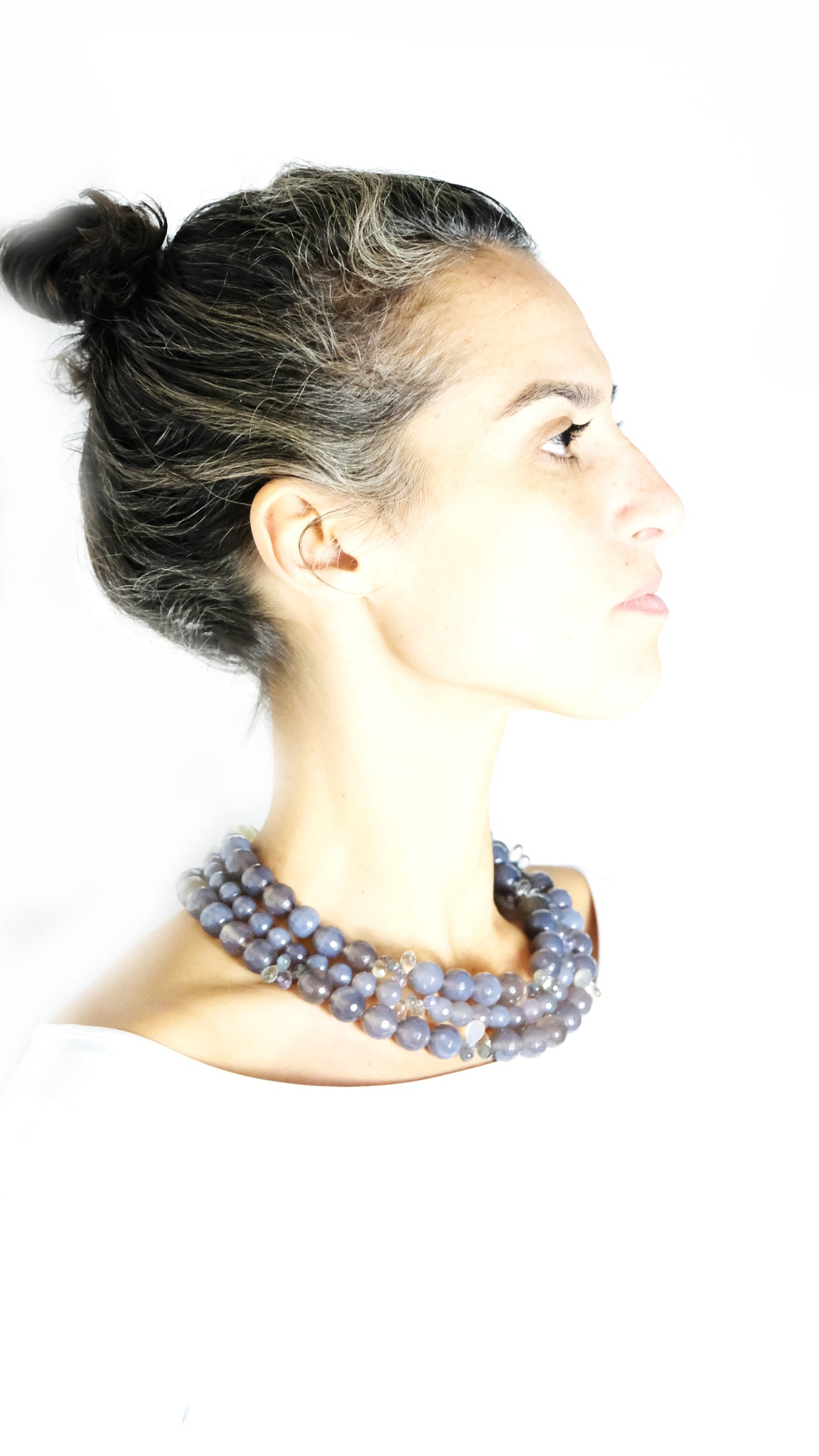 MULTIPLE ROW COLLIER EVE - Ava Cadiz