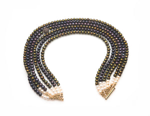 MULTIPLE ROW COLLIER CLARI - Ava Cadiz