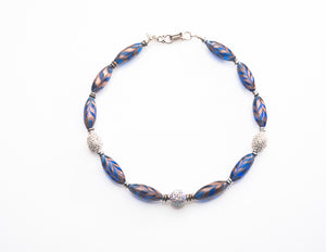 MURANO NECKLACE OTTAVIA - Ava Cadiz