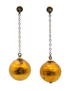 MURANO GLASS EARRINGS - Ava Cadiz