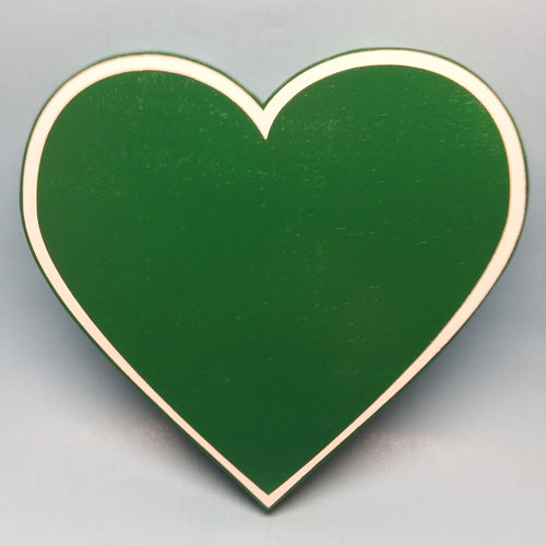 JG 54 Green Heart Painted Display Base