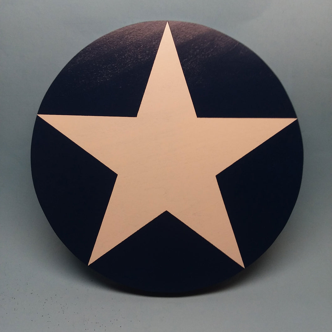 American Star Painted Display Base