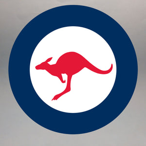 Australian Roundel Painted Display Base