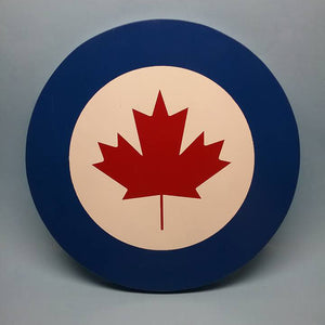 Canadian Modern Roundel Painted Display Base