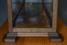Load image into Gallery viewer, 36 Inch Hardwood Ship Display Case