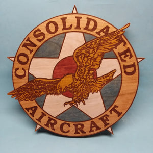 Consolidated Aircraft Painted Display Base