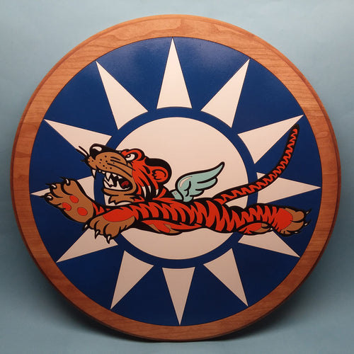 Flying Tigers Painted Display Base
