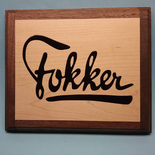 Fokker Painted Display Base
