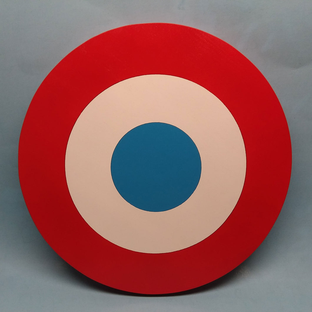 French Roundel Painted Display Base