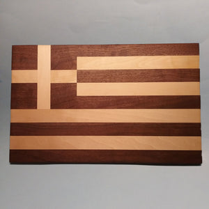 Greek Flag Display Base