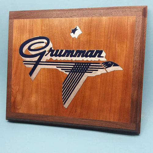 Grumman 1929-1973 Logo Painted Display Base