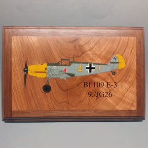 JG 26 Bf109E Painted Display Base