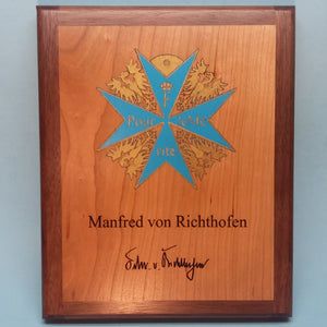 Manfred von Richthofen Painted Display Base