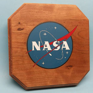 NASA Logo Painted Display Base