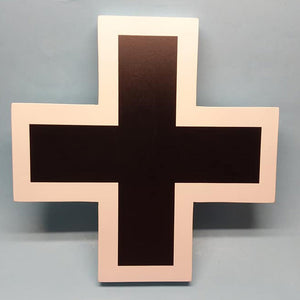 German Late WW I Balkenkreuz Painted Display Base